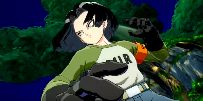 dragon ball fighterz android 17