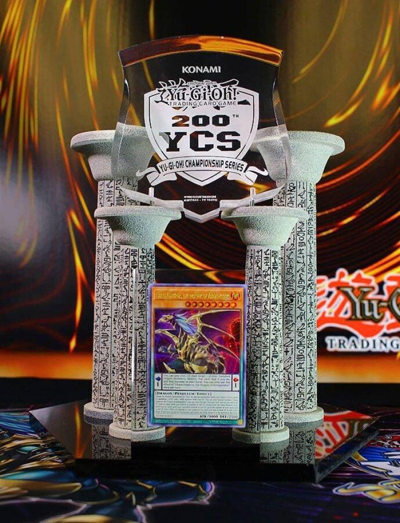 yugioh ycs 200 trophy