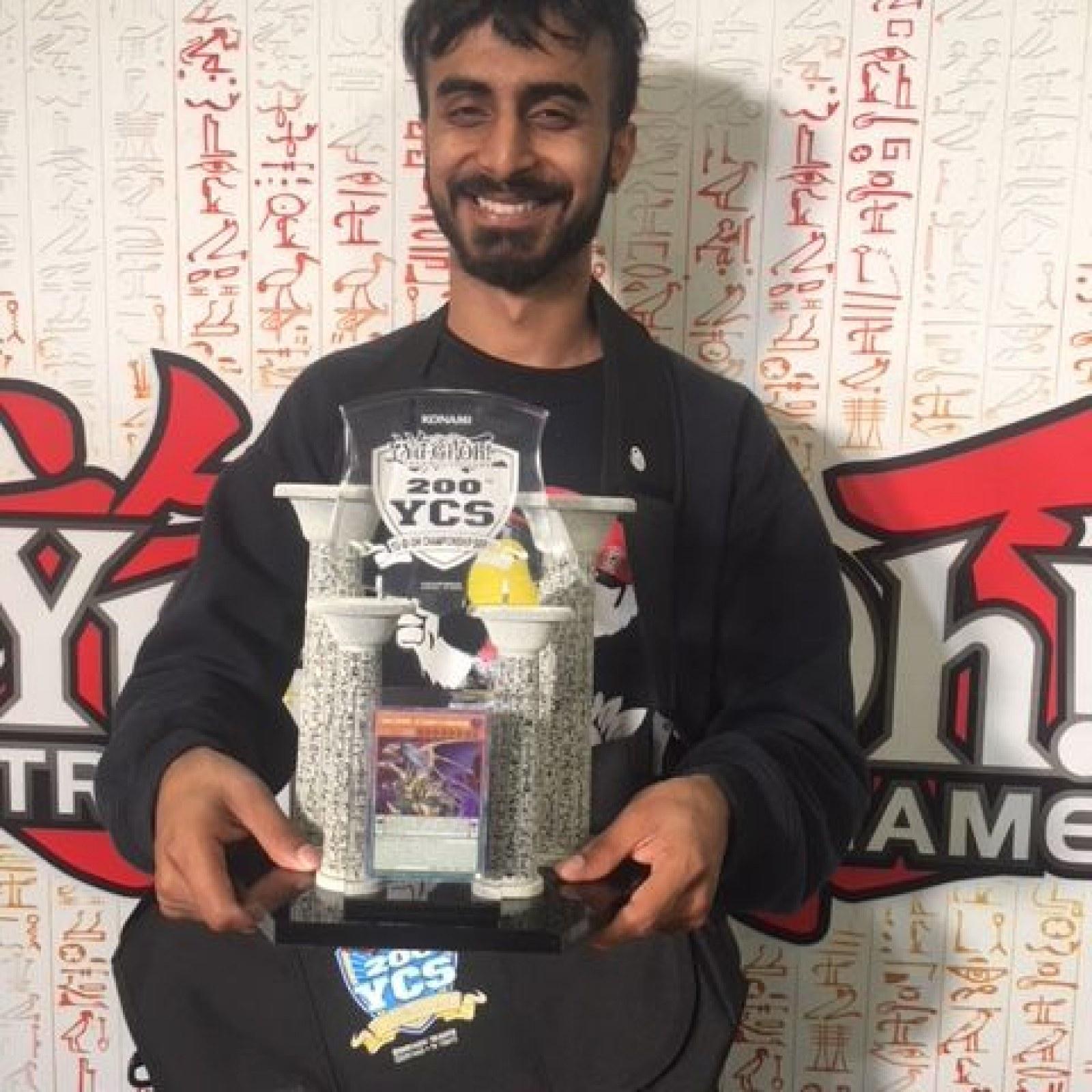 Yu-Gi-Oh! YCS 200 Champion, Manav Dawar Talks Sky Striker