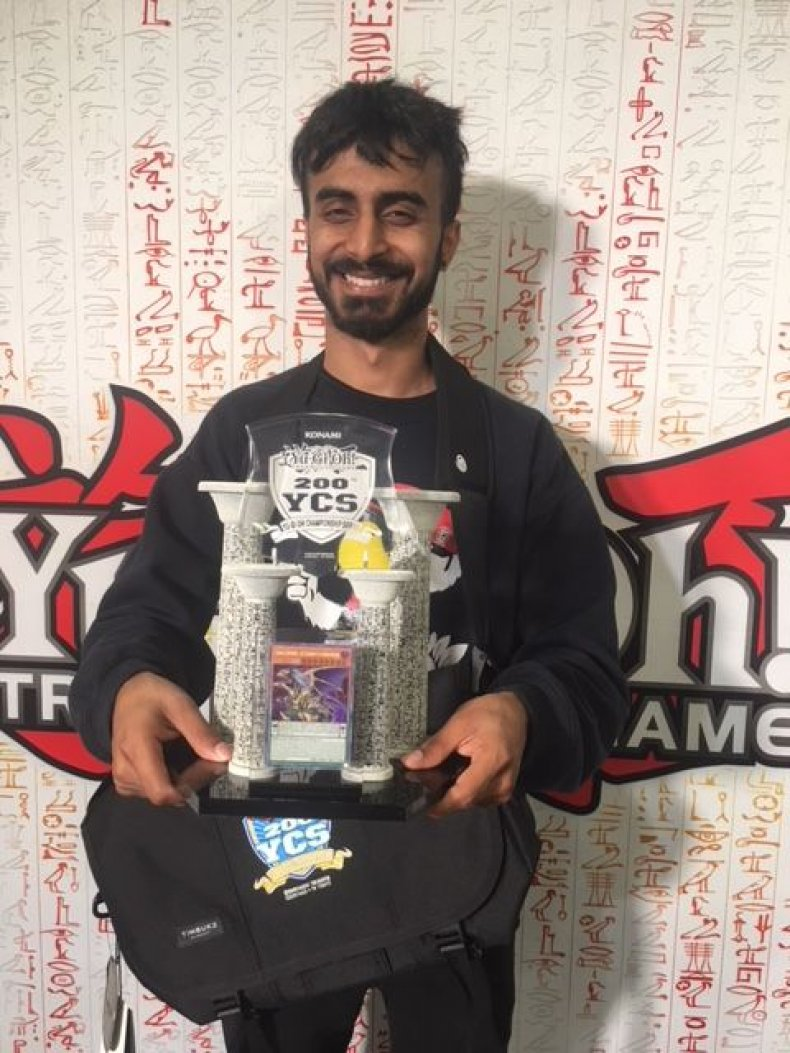 yugioh ycs 200 manav Dawar-Champion