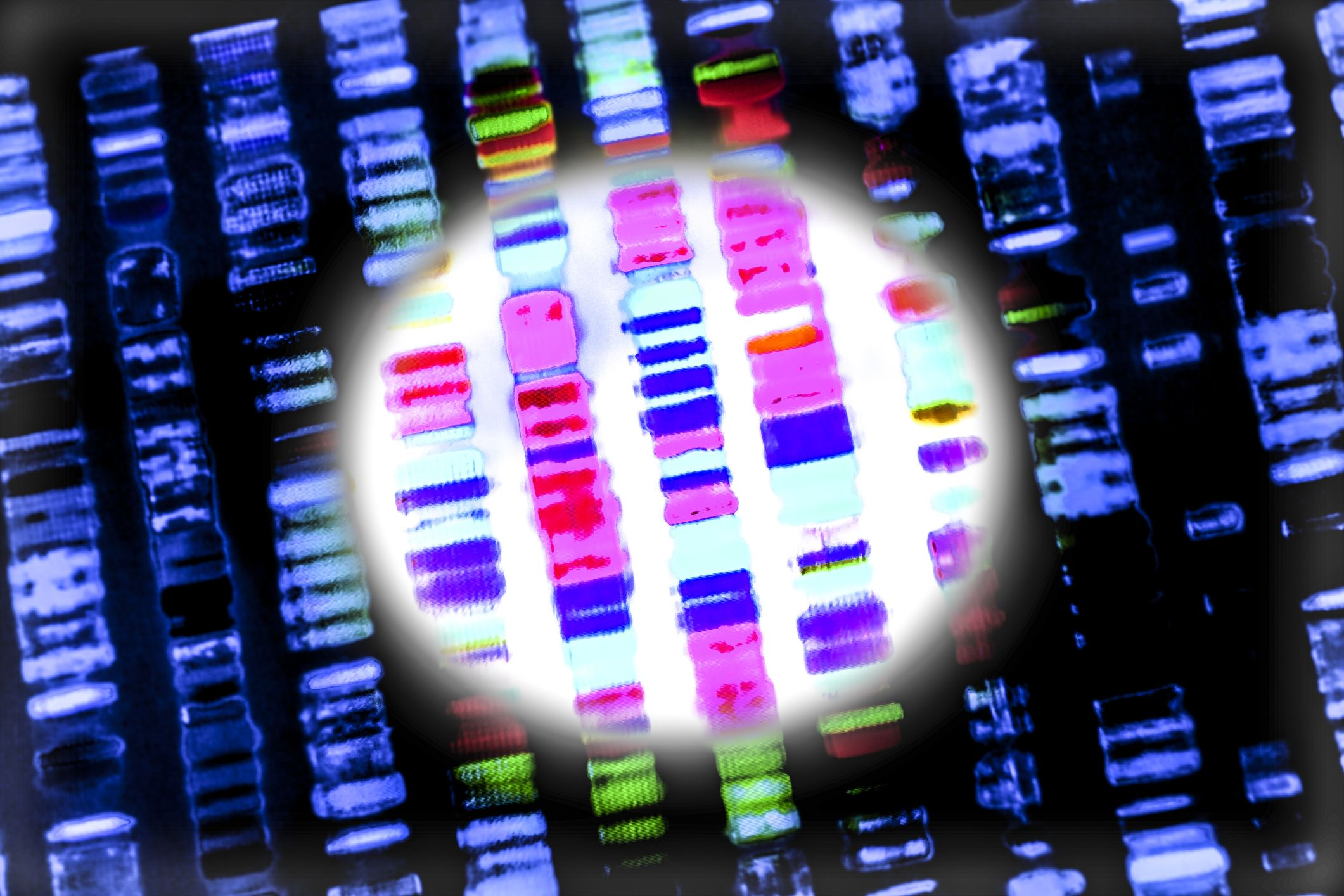 DNA-sequence-stock