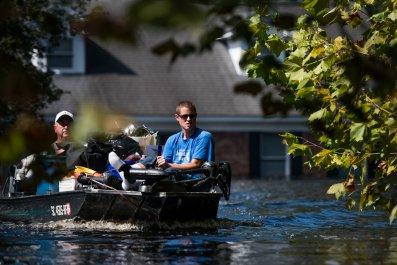 Flooding south carolina river