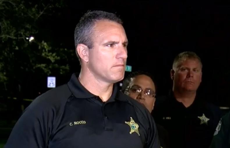 Pasco County Sheriff Chris Nocco