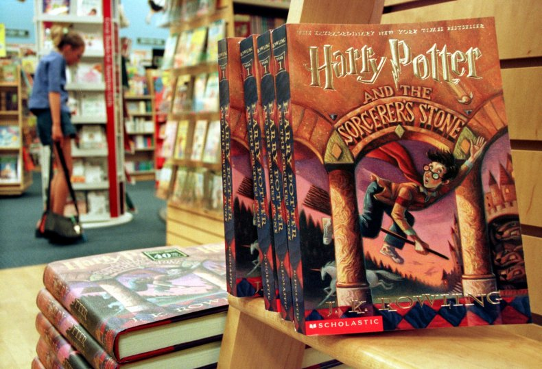 harry potter banned