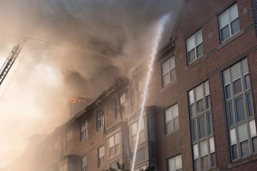 fire dc arthur capper senior housing center