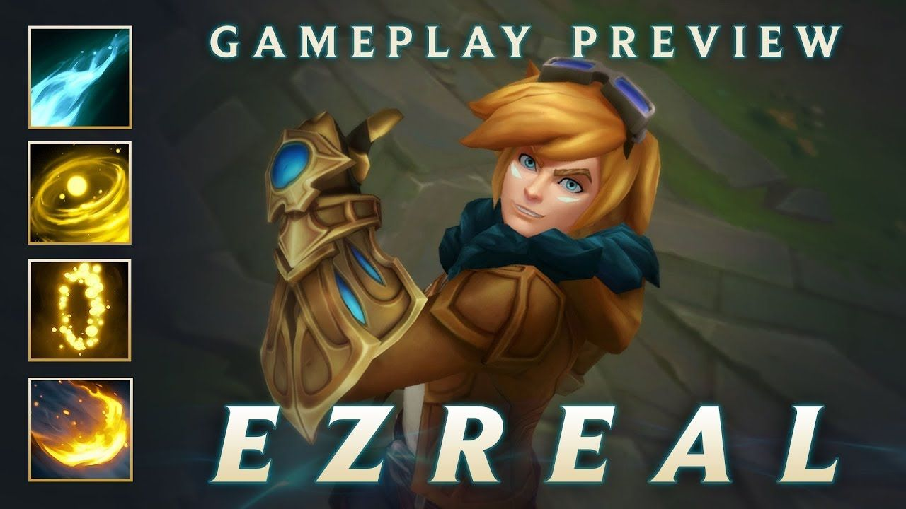 gameplay preview ezreal