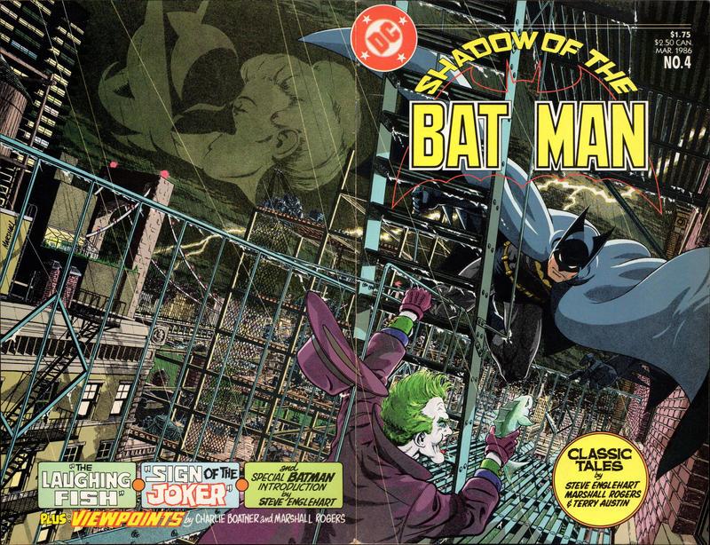 shadow of batman joker movie steve englehart marshall rogers