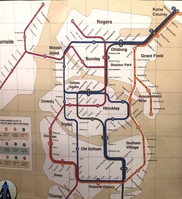 Joker-Gotham-City-Map subway jaoquin pheonix movie