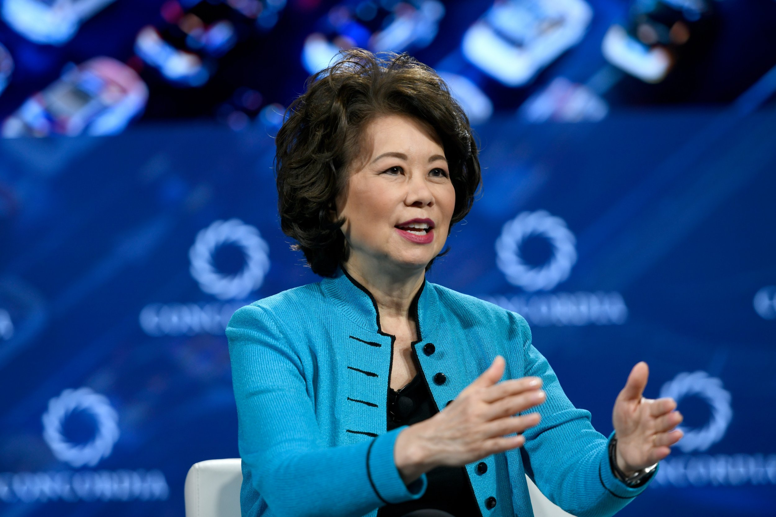 Elaine Chao, self-driving cars, supersonic, airplaces
