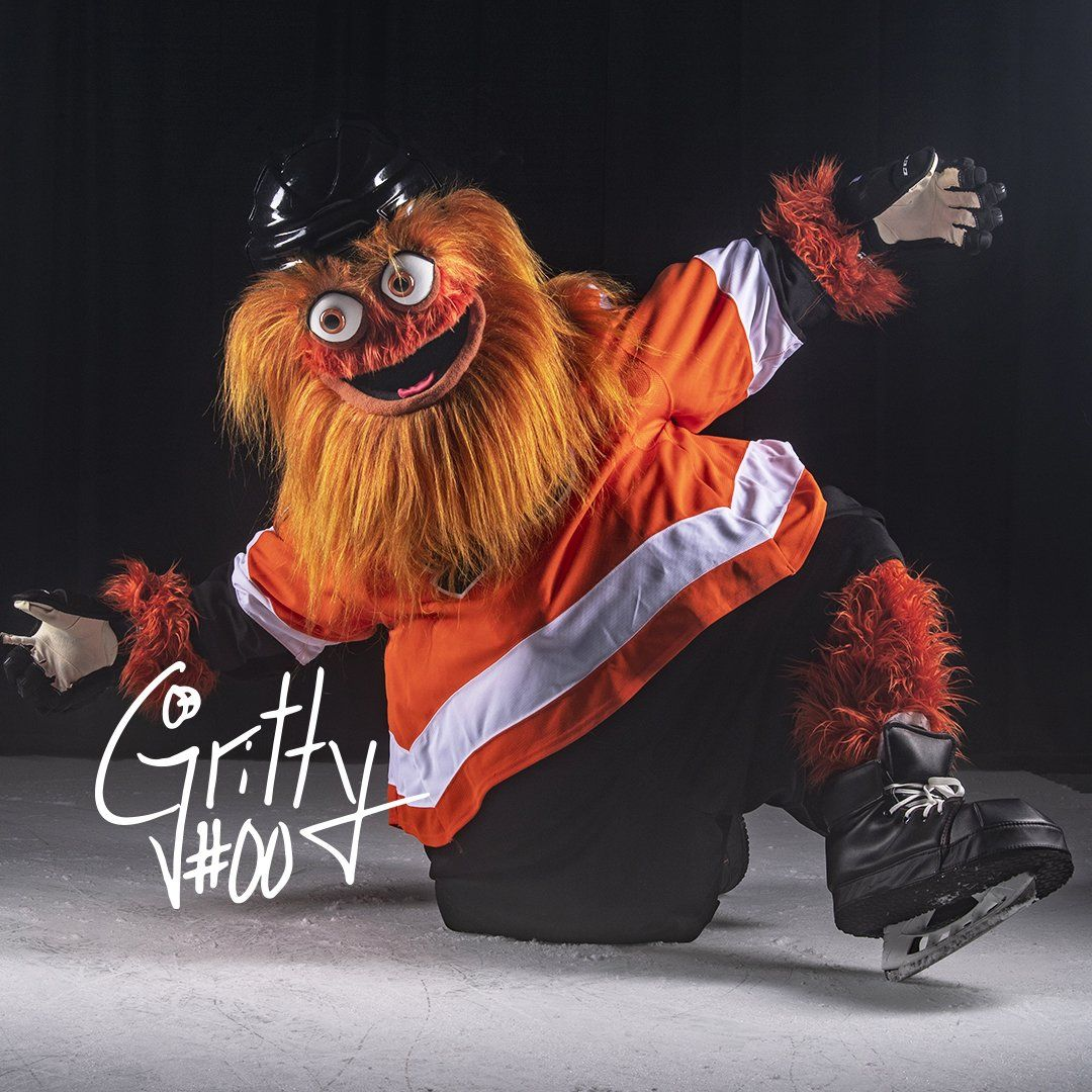 what the puck philadelphia flyers new mascot gritty shocks twitter