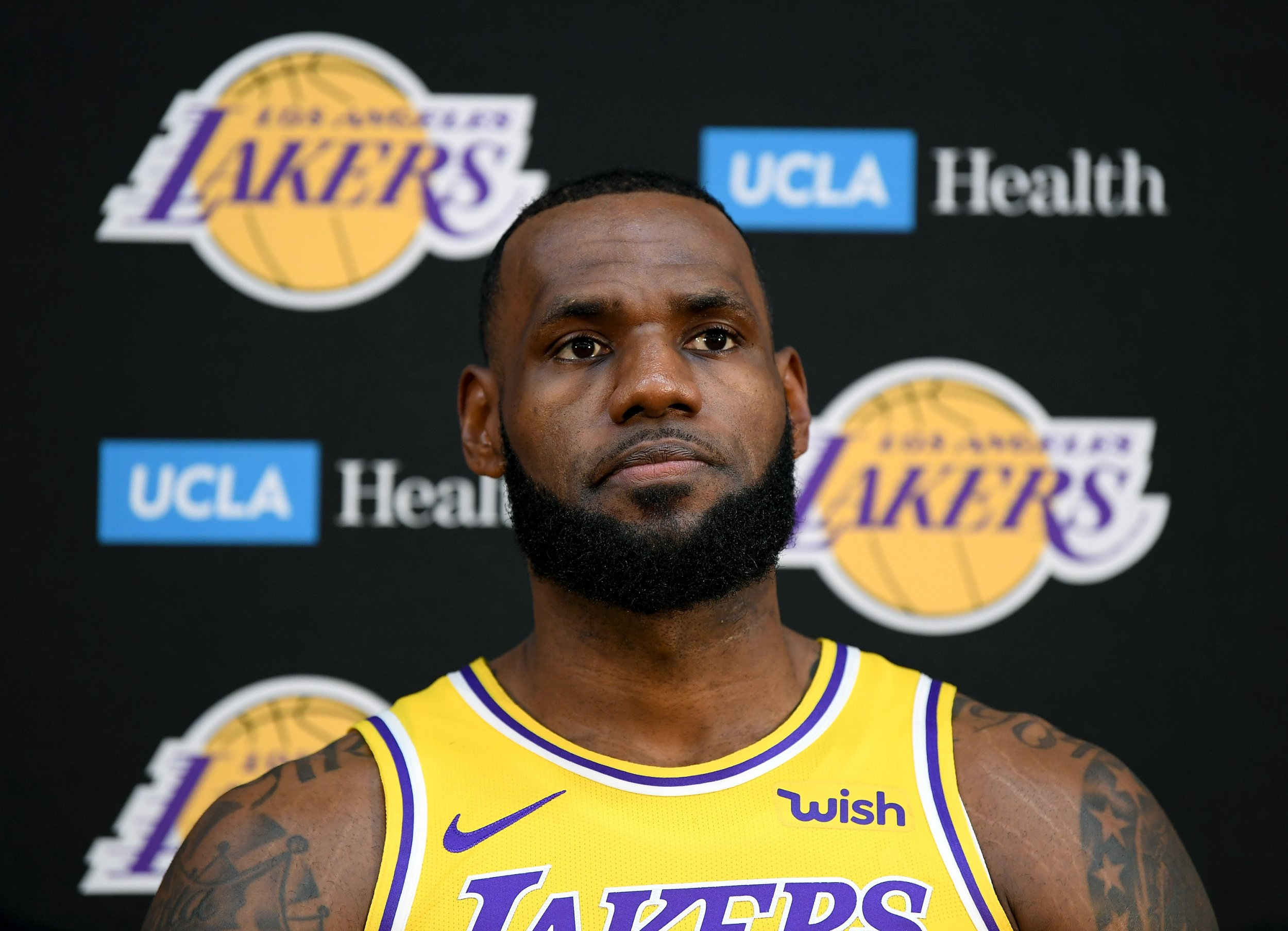 Here's what LeBron said about the Lakers' prospects for this season