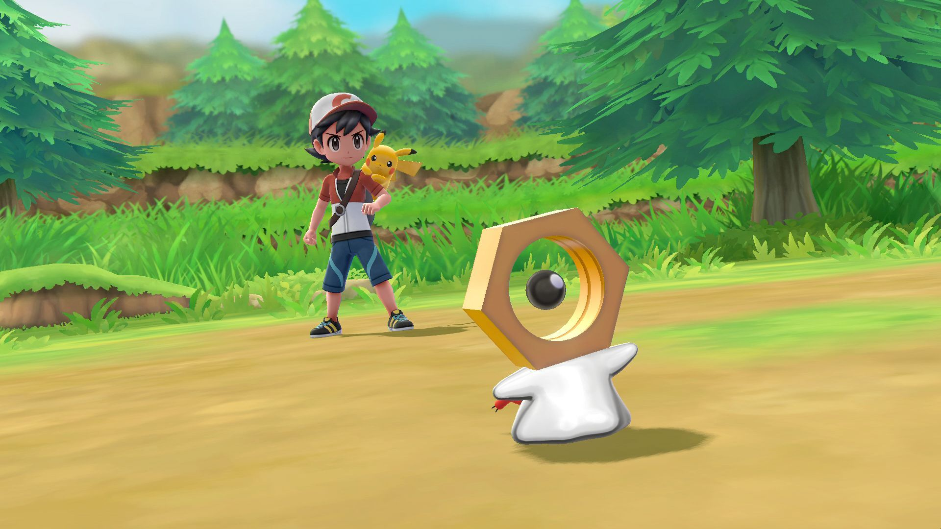 Meltan in Pokémon Let's Go, Pikachu! and Let's Go, Eevee! 1