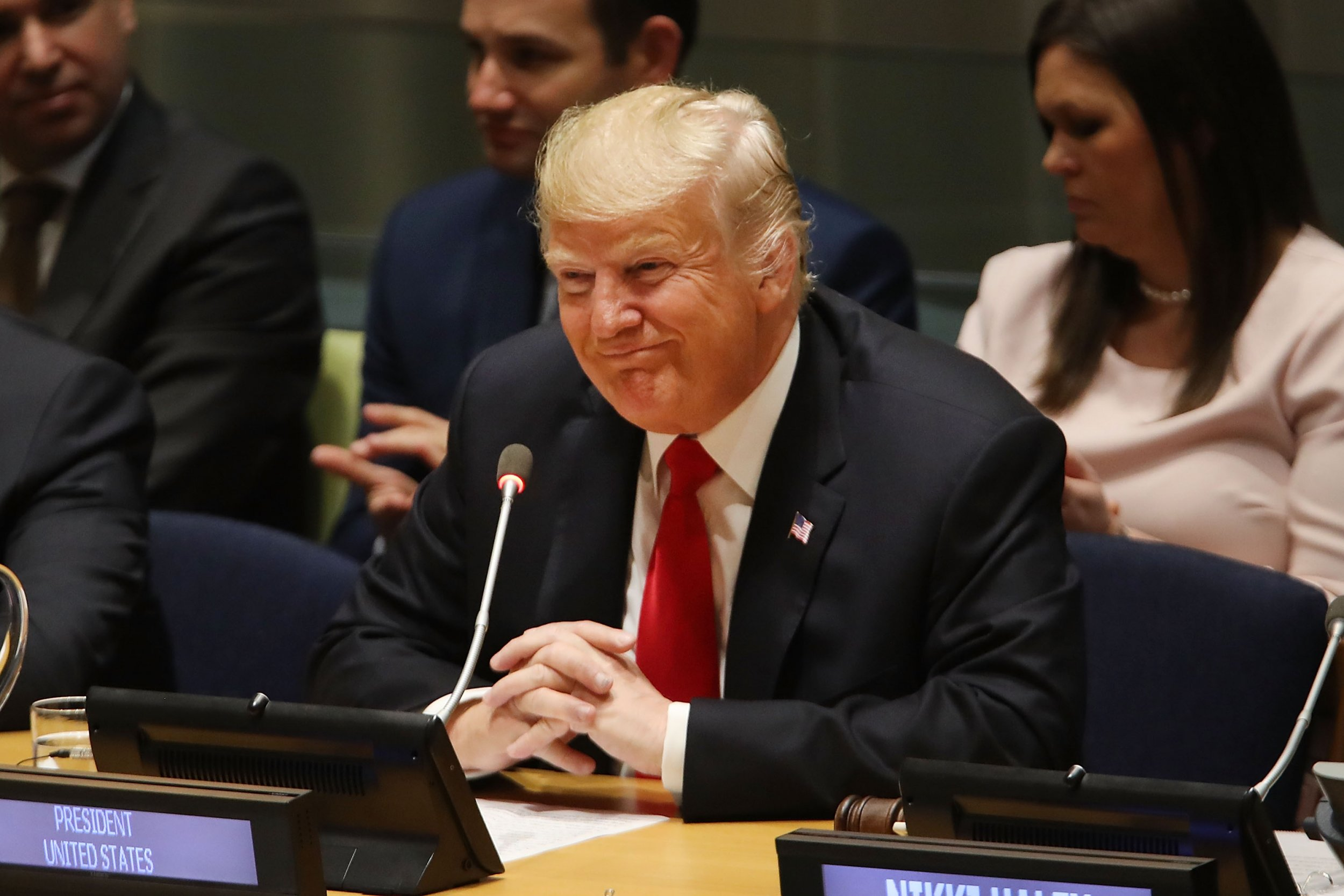 Watch: Donald Trump laughed at by U.N. General Assembly for claiming his administration is greatest in history