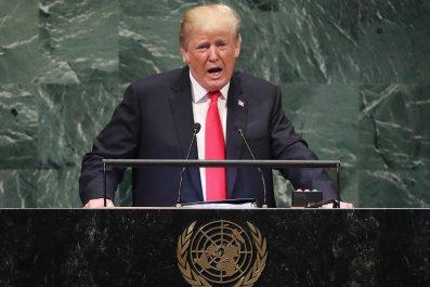 Donald Trump, patriotism, U.N. speech