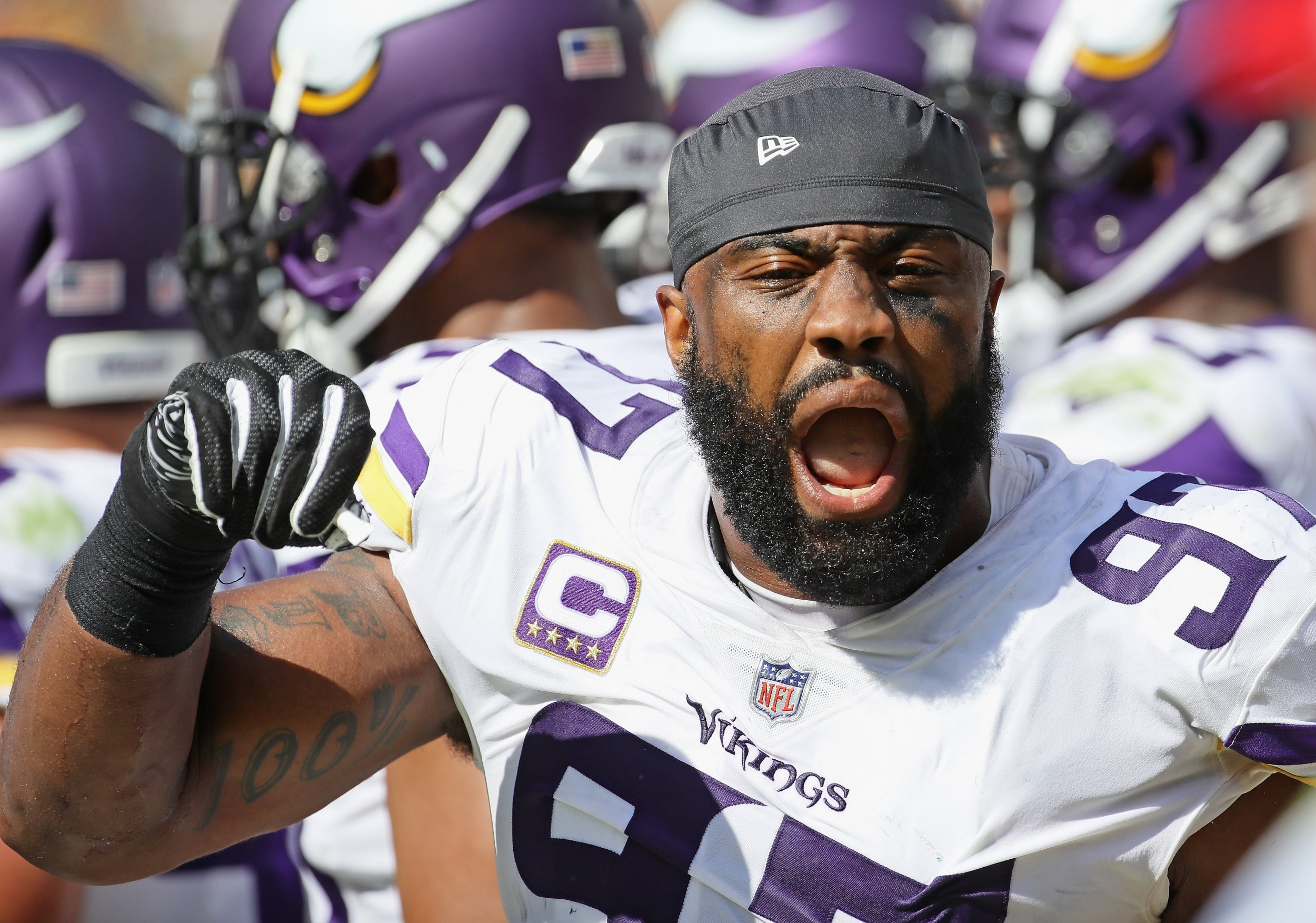 Vikings DE Everson Griffen involved in alleged hotel incident
