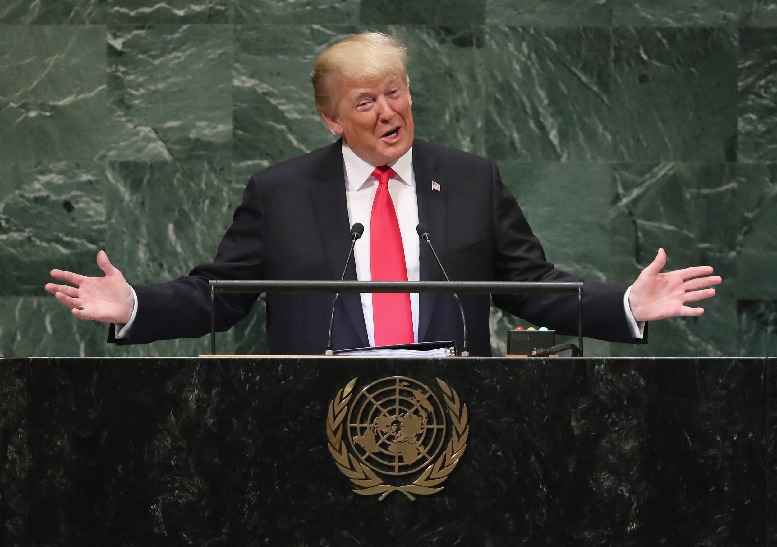 fox hosts trump not laughed united nations