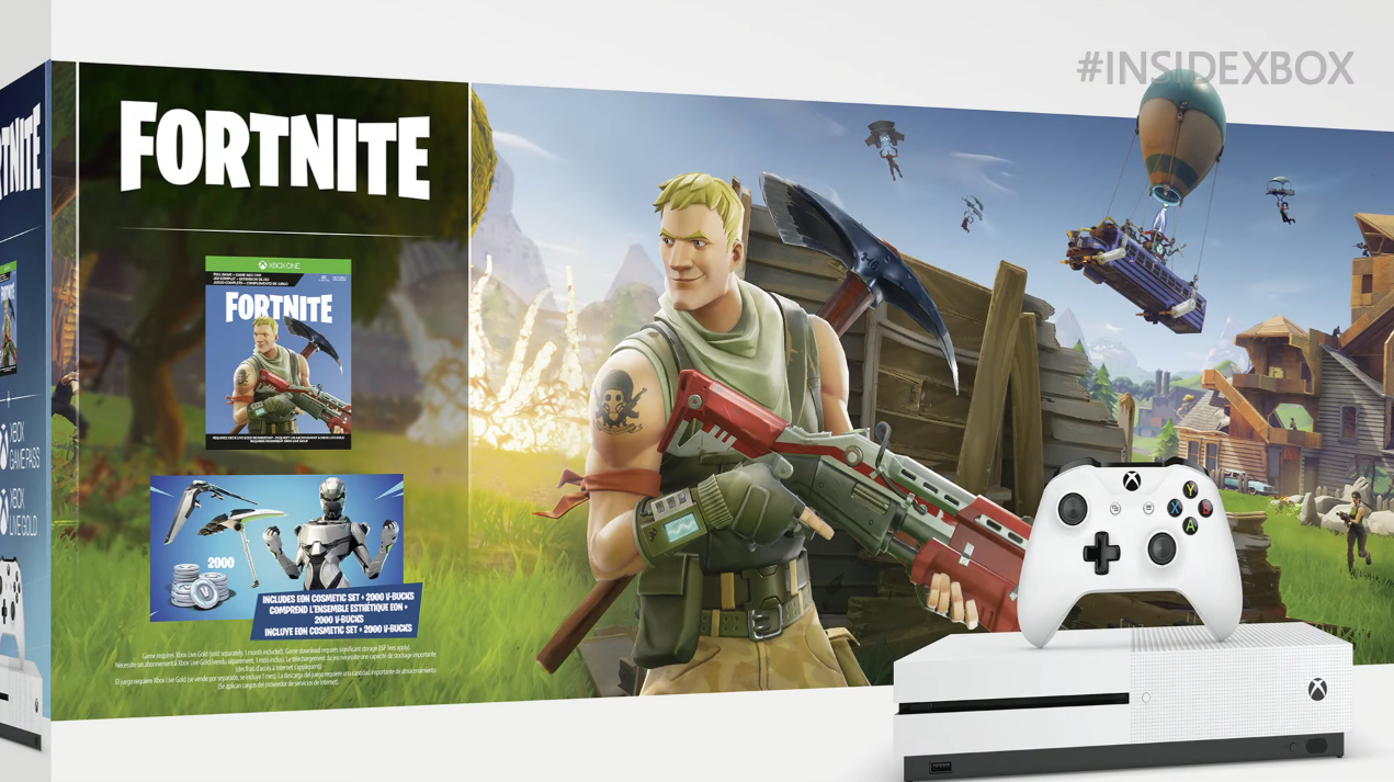 Xbox One S Fortnite Bundle