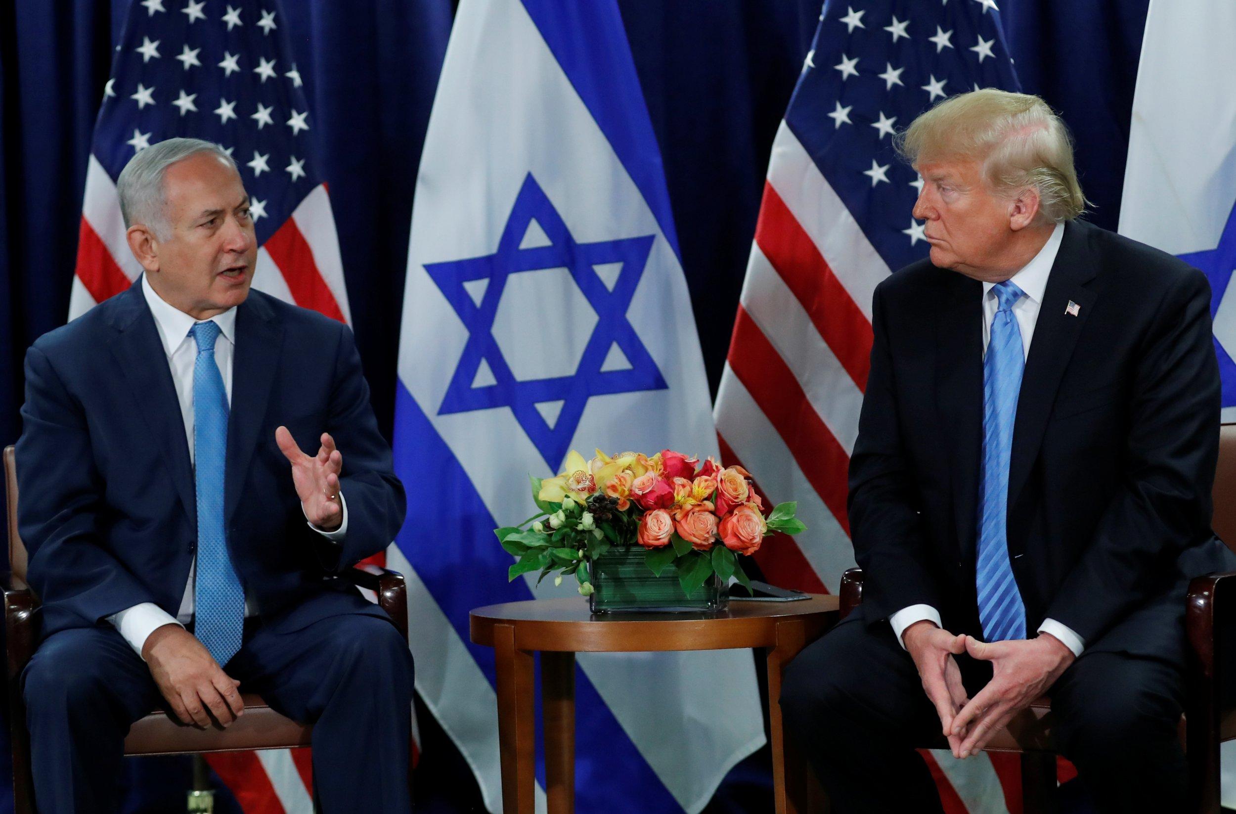 Image result for trump, kushner, netanyahu