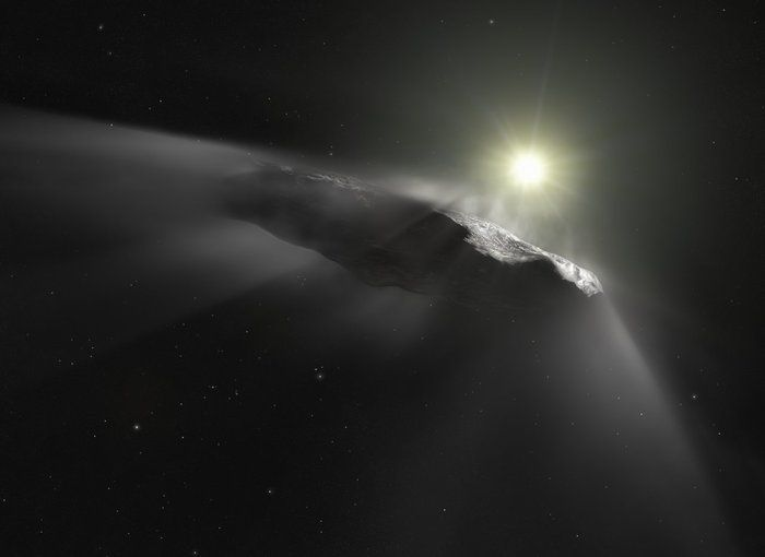 An interstellar space rock hit our planet five years ago