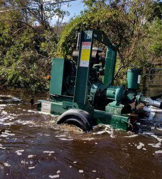 Hurricane Florence Floodwater Imerald Isle