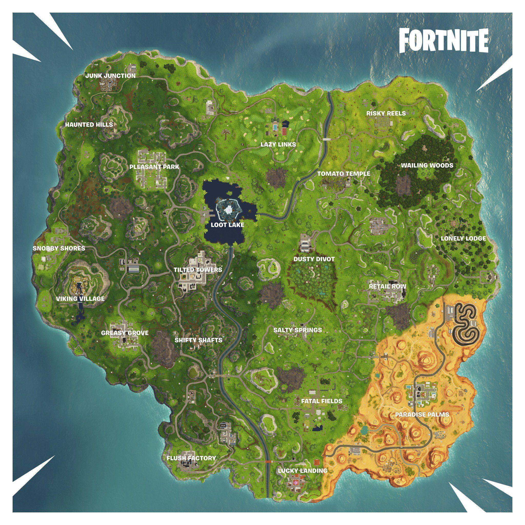 fortnite season 6 map - fortnite xbox safe zone setting