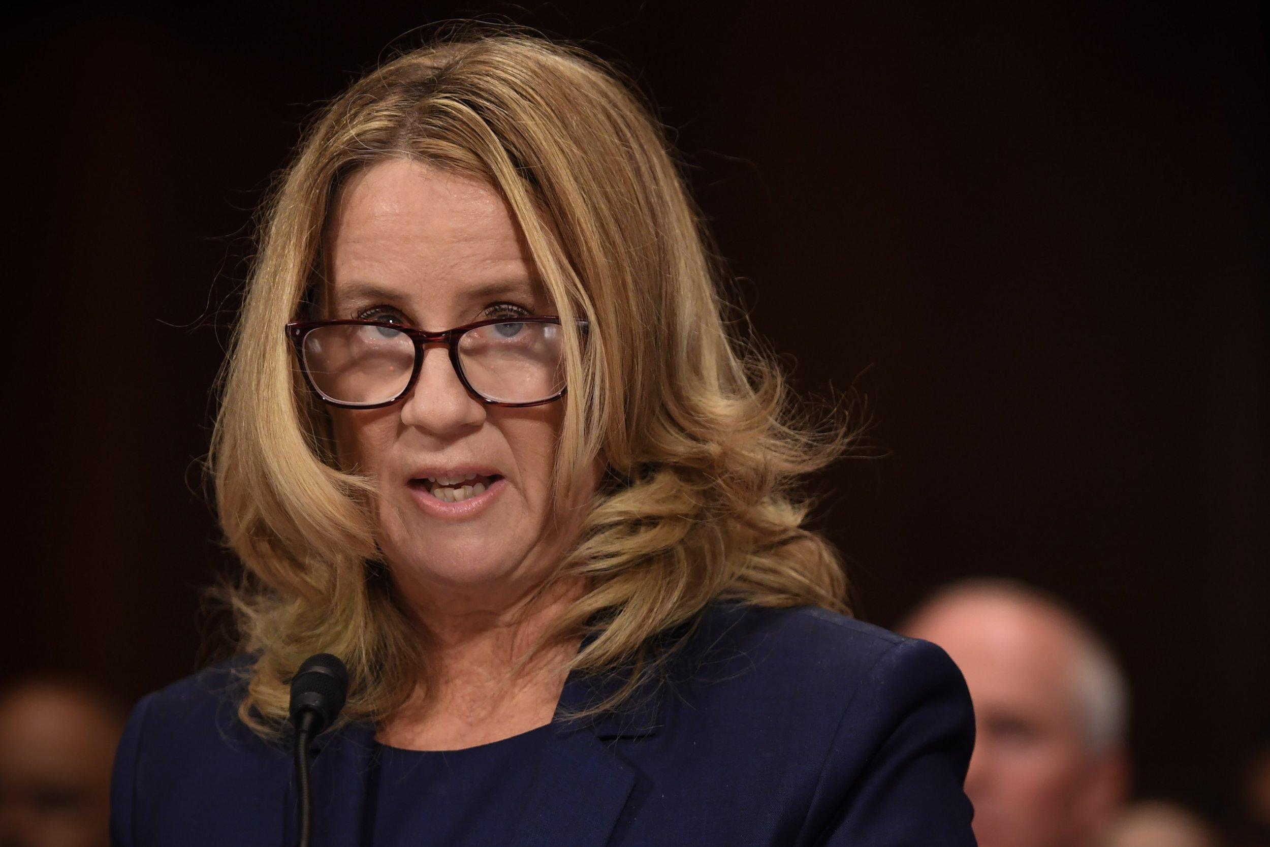 Christine Blasey Ford hearing, Donald Trump Jr.