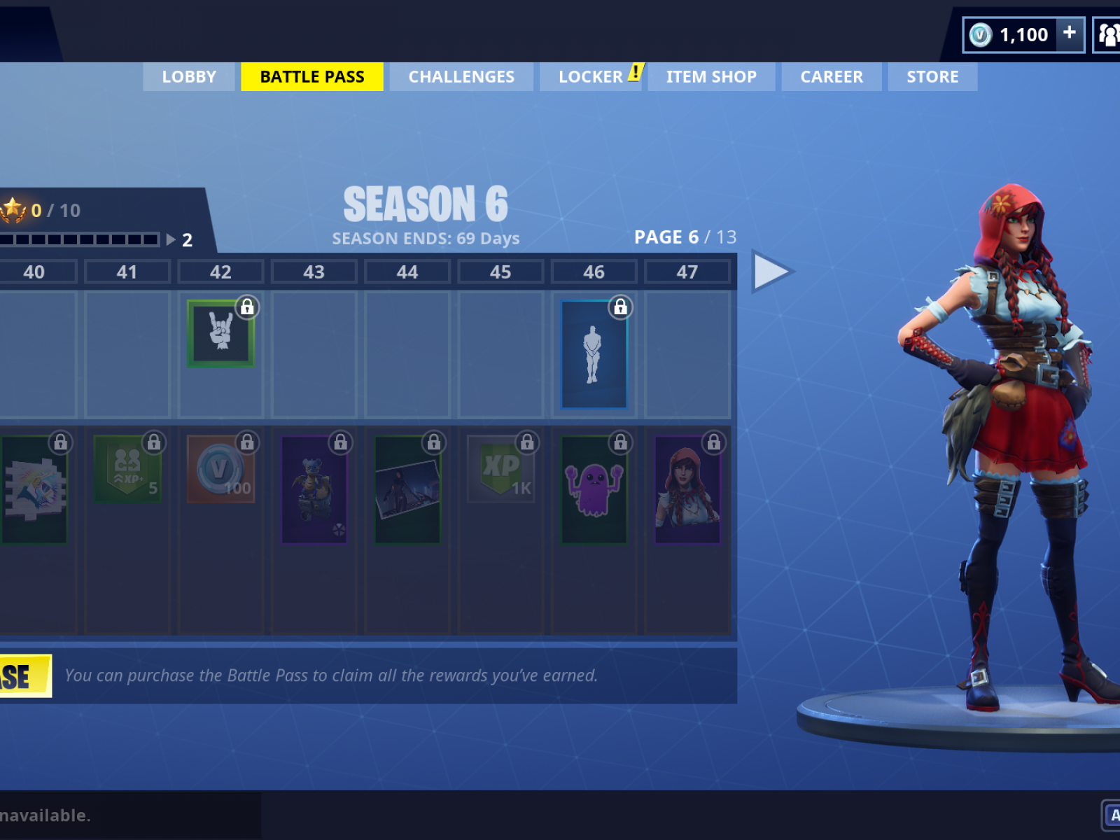 Fortnite Season 6 Battle Pass Skins From Llamas To Werewolves