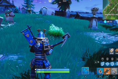 fortnite graveyard