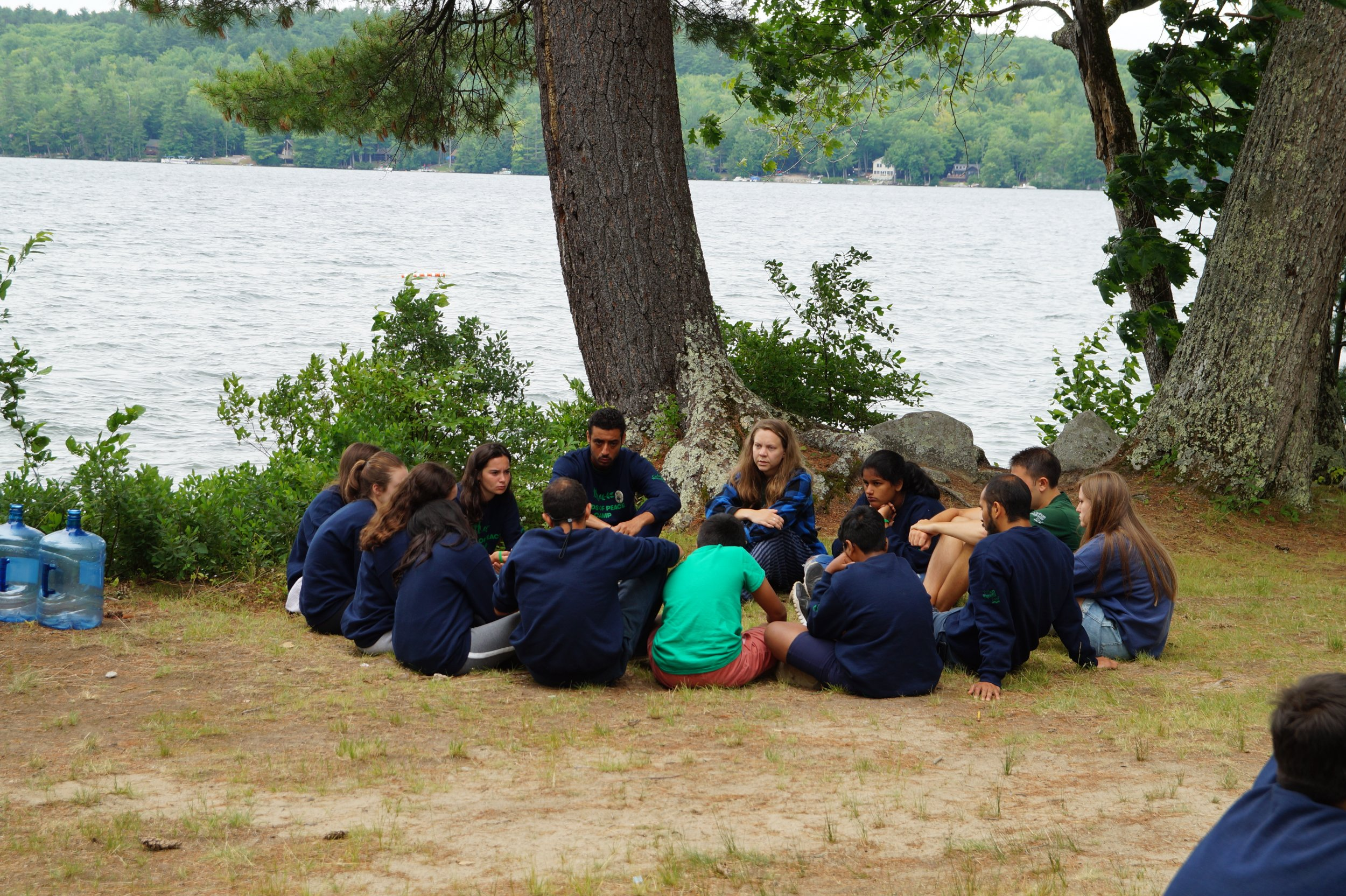 dialogue by the lake seeds of peace