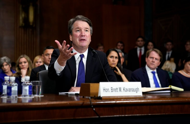 Brett Kavanaugh hearing