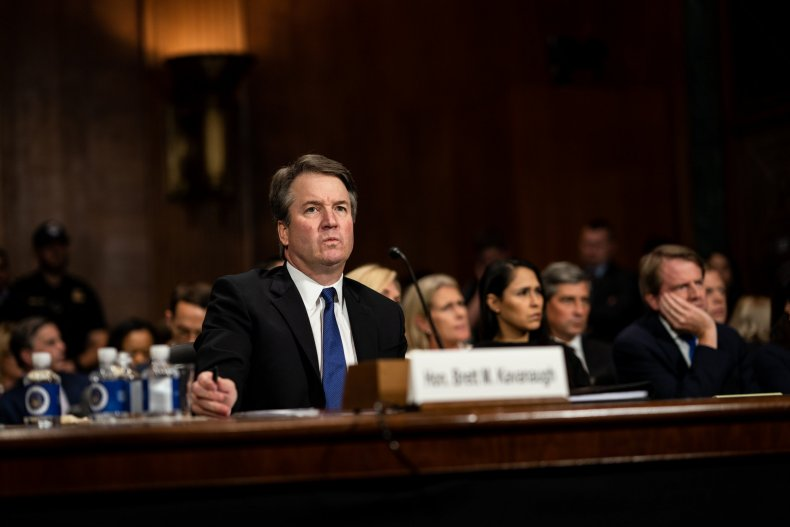 Brett Kavanaugh vote, confirmed, Supreme Court