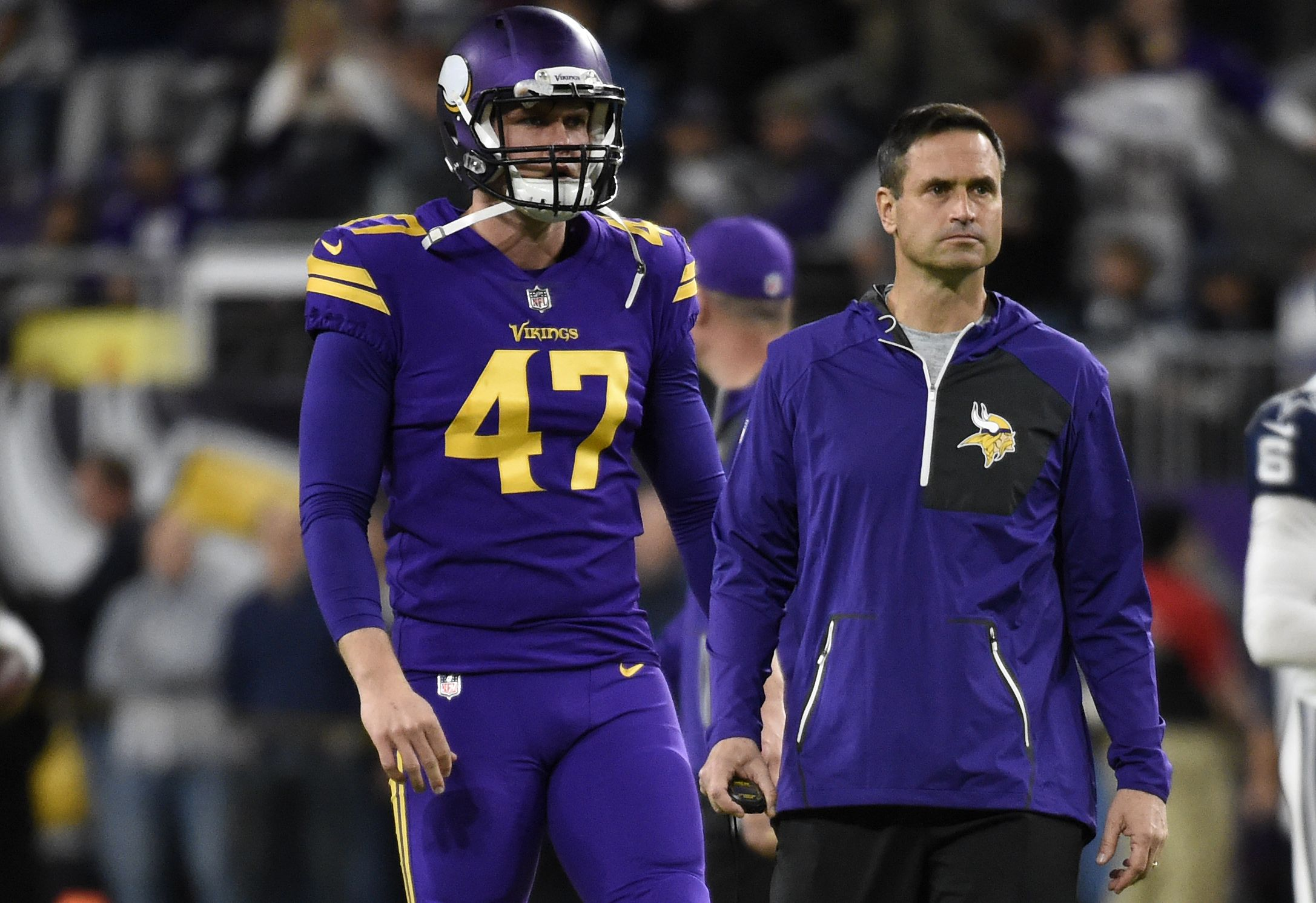 Vikings Long Snapper Mcdermott Loses Part Of A Finger