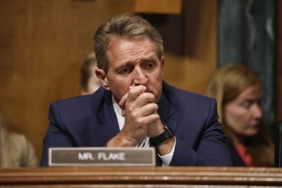 Jeff Flake Kavanaugh vote hearing