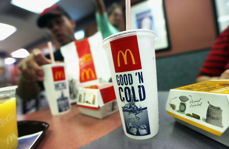 mcdonald's employee spiked officer's drink