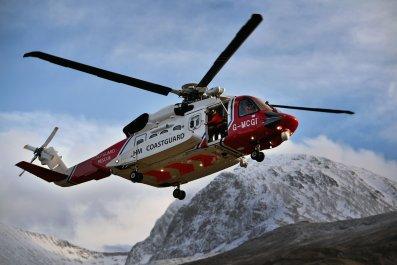 Helicopter Crash Alaska