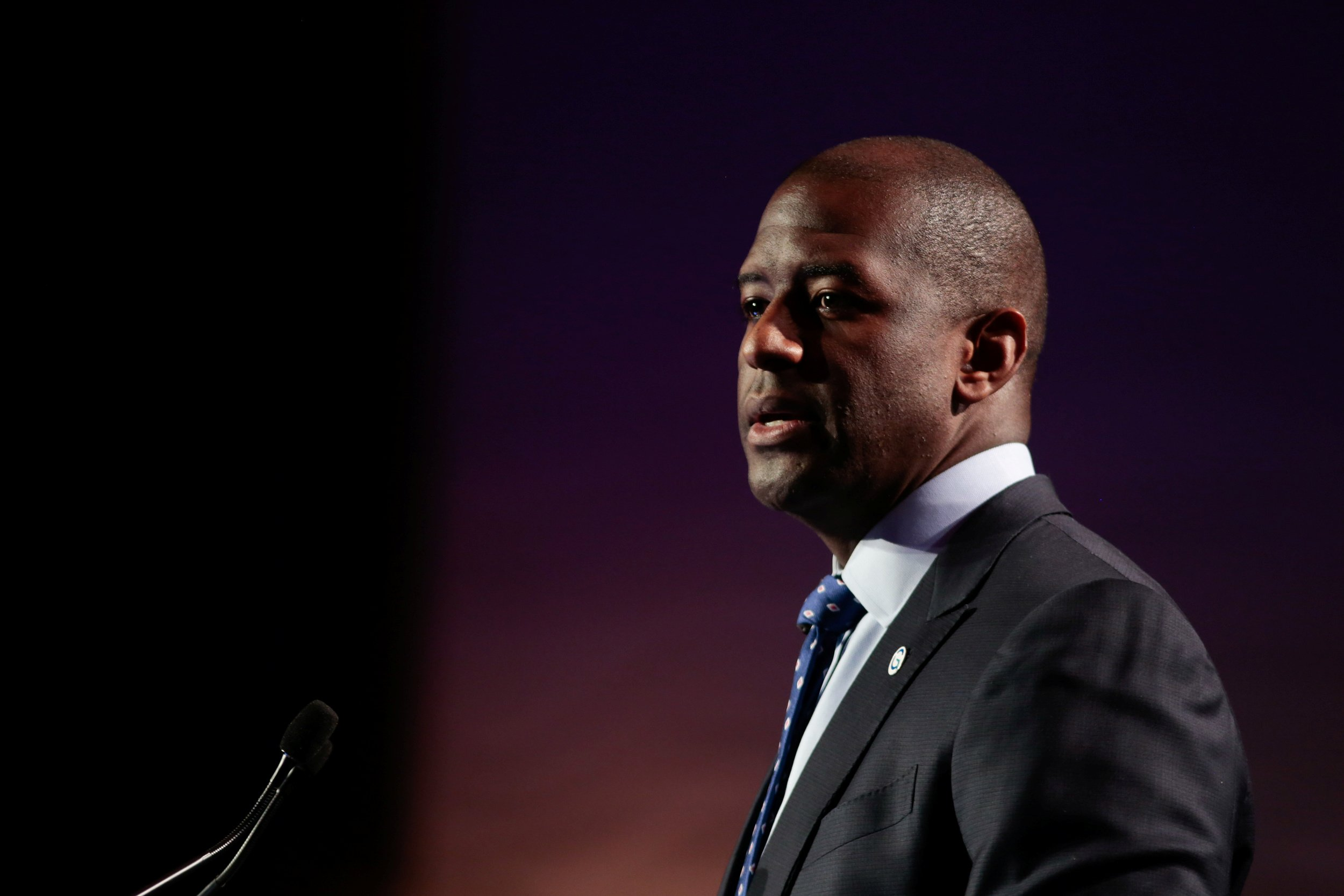 Andrew gillum staffer fired anti-trump tweet