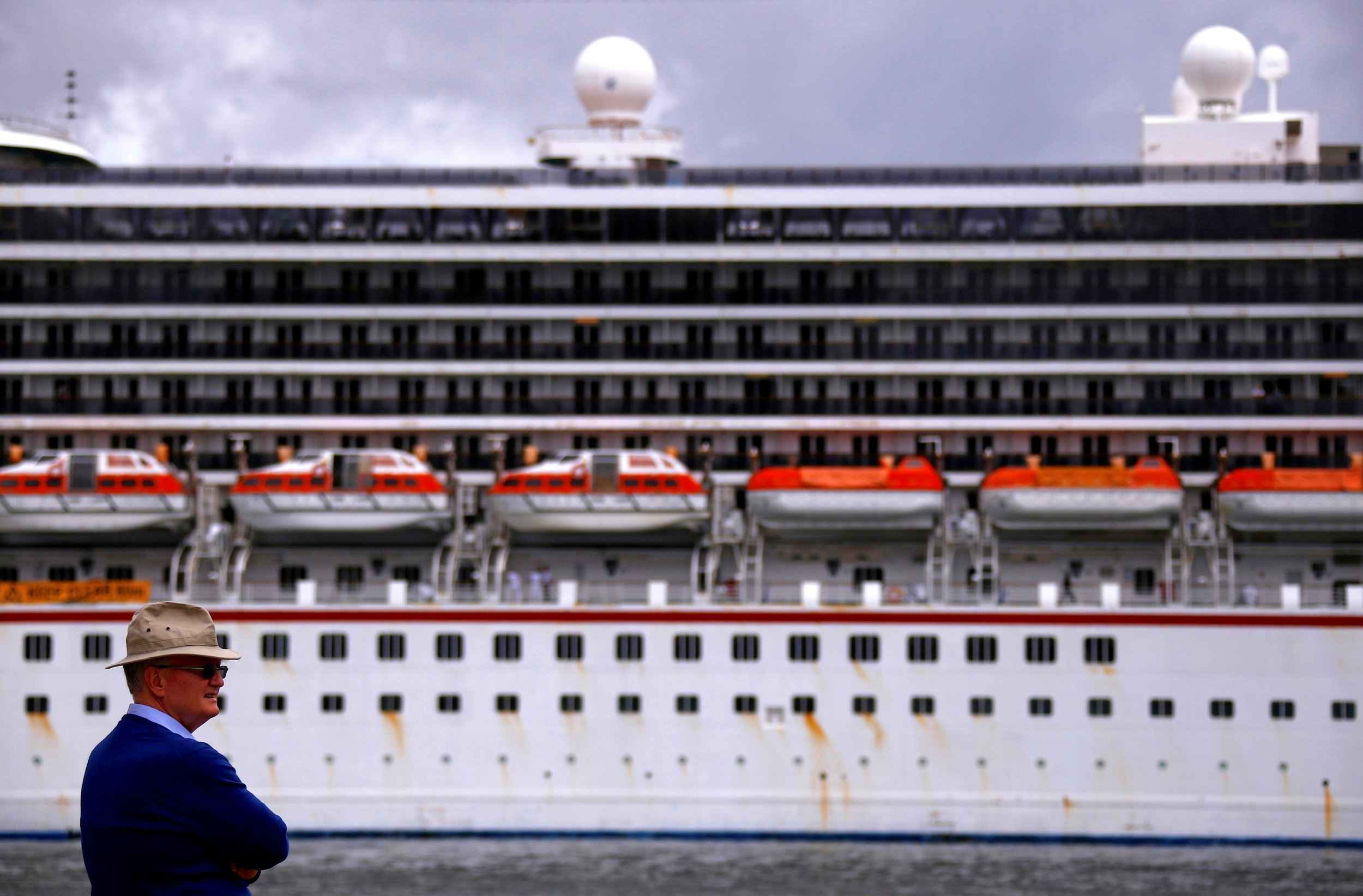Cruise Ship Refunds Passengers After 1,300 Men Took Over and