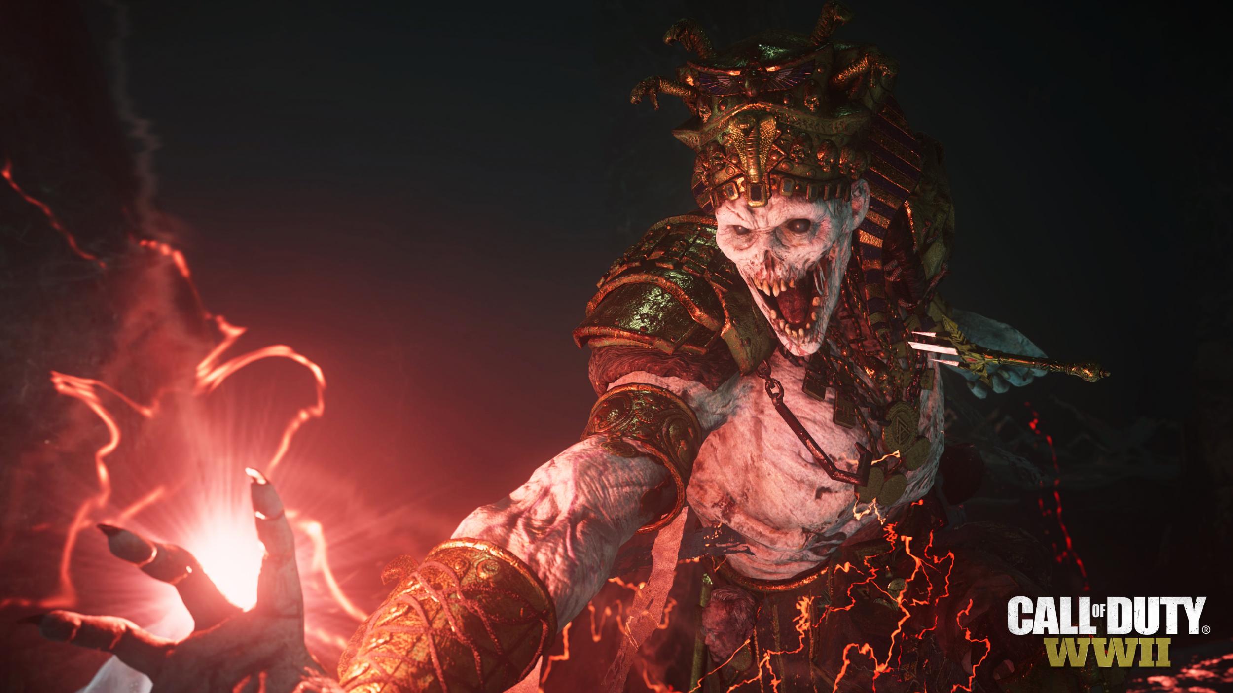 Call of Duty WW2 DLC3 Zombie 122 update