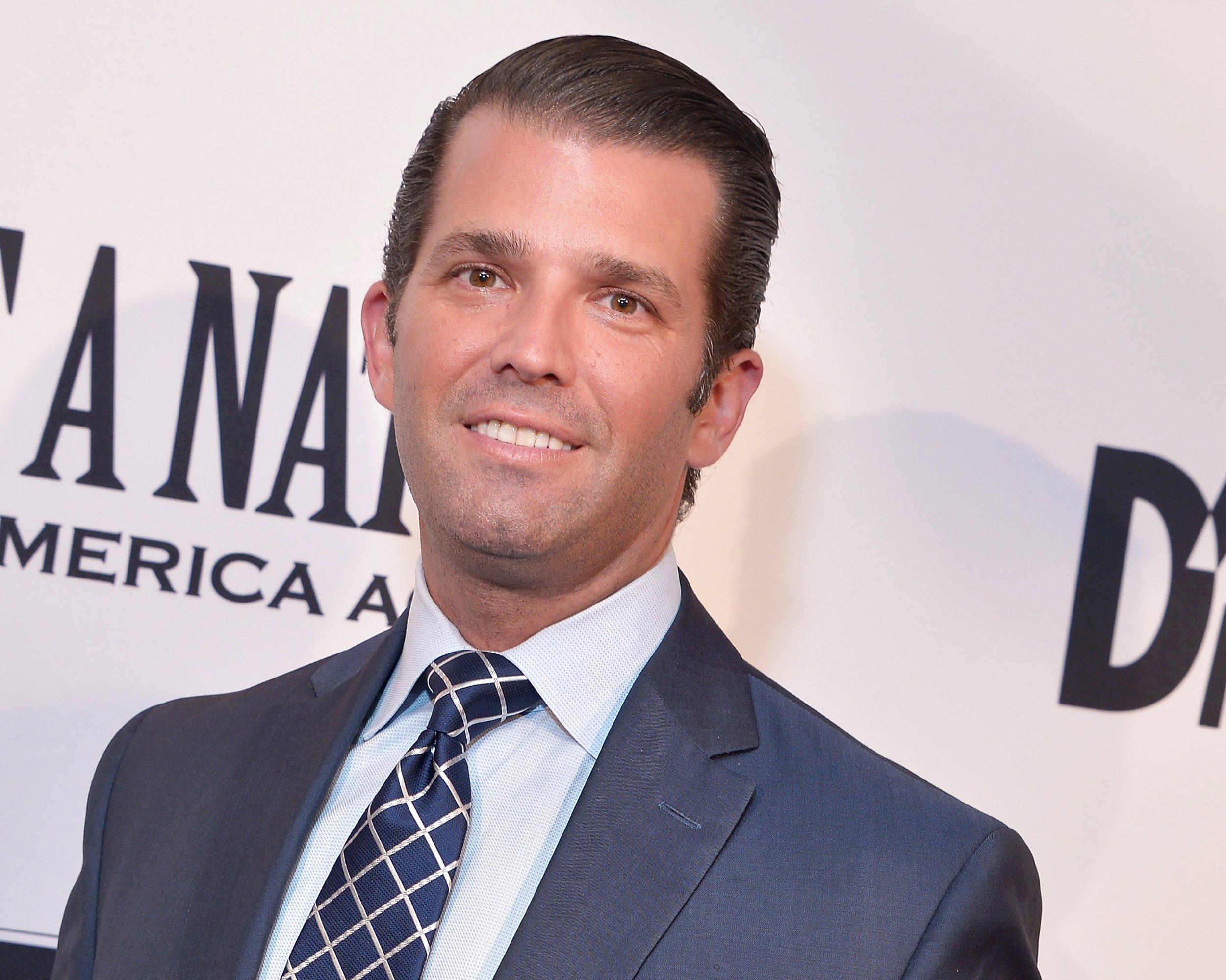 Donald Trump Jr Calls Alyssa Milano 'Entitled'