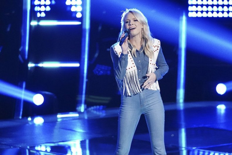 the voice 2018 live blog recap results season 15 episode 4 blind auditions team Blake teams so far Rachel messer West Virginia country western yodeling singer who won tonight what time does it come on how to watch