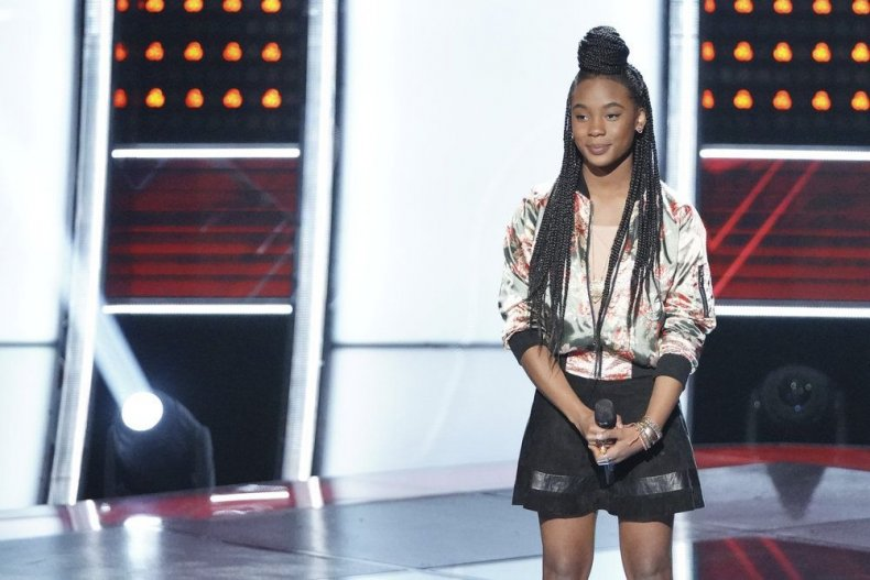 the voice season 15 episode 4 live blog blind auditions teams so far team Jennifer Kennedy Holmes 13 year old girl singer to win what time does it come on results recap