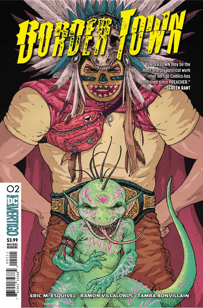 Border Town #2 cover