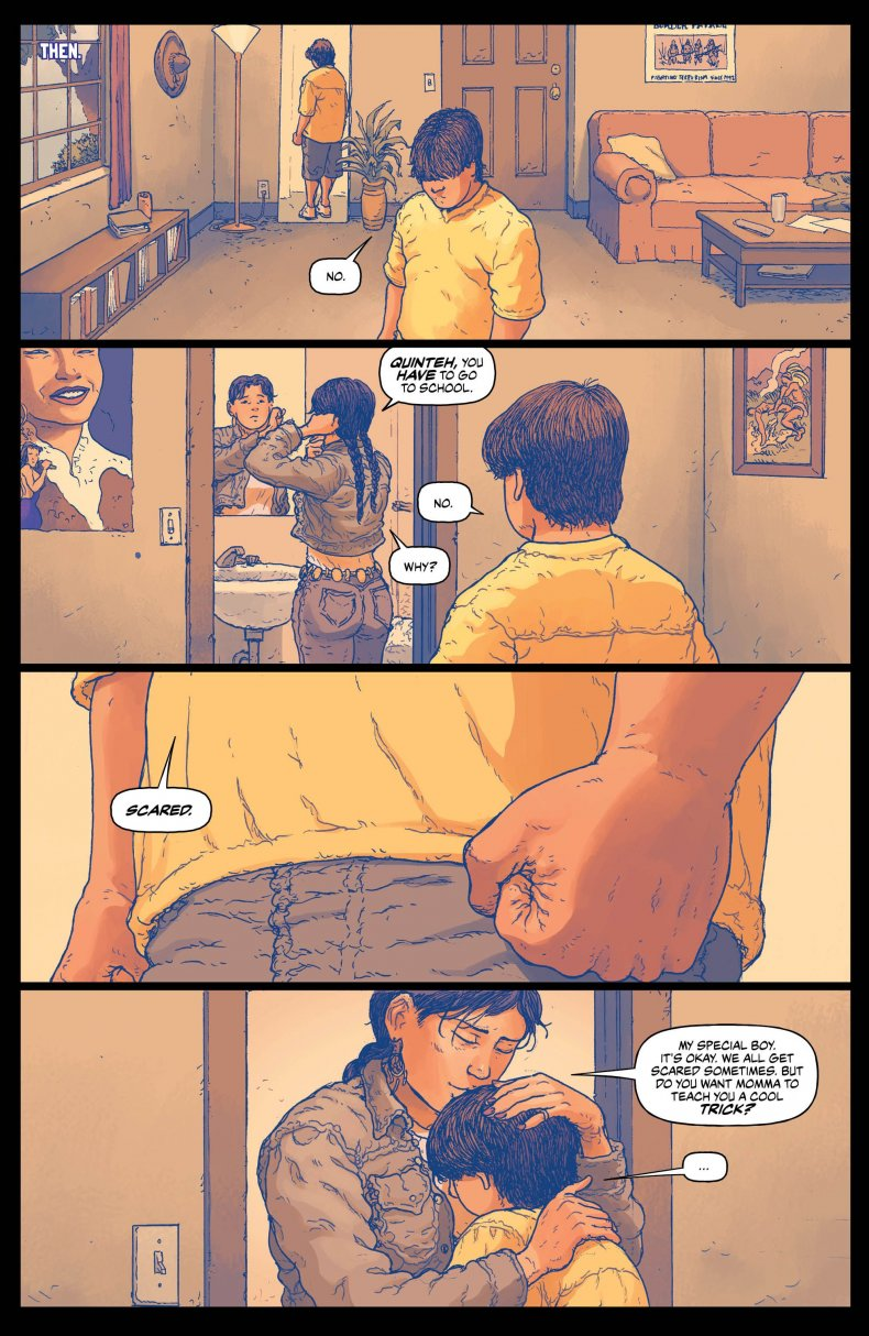 border town #2 page 1