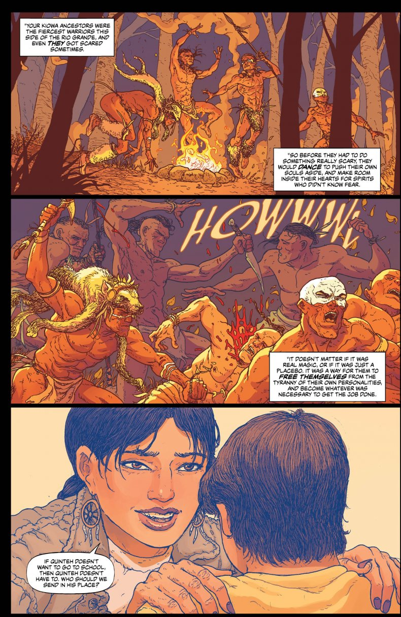 'Border town #2 page 2