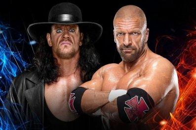 undertaker vs triple h ssd