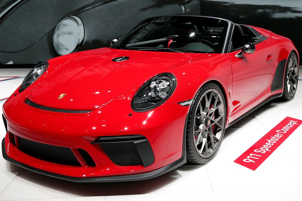 09 Porsche 911 Speedster concept 2018-10-02T115455Z_377891558_RC13B5A1D690_RTRMADP_3_AUTOSHOW-PARIS