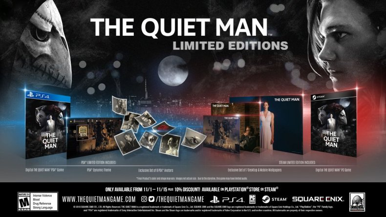 The Quiet Man preorders