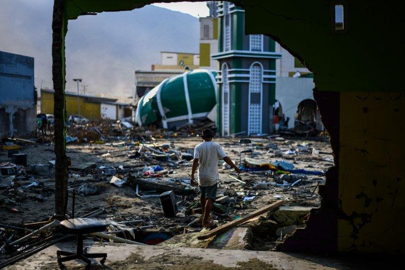 indonesia earthquake tsunami volcano eruption