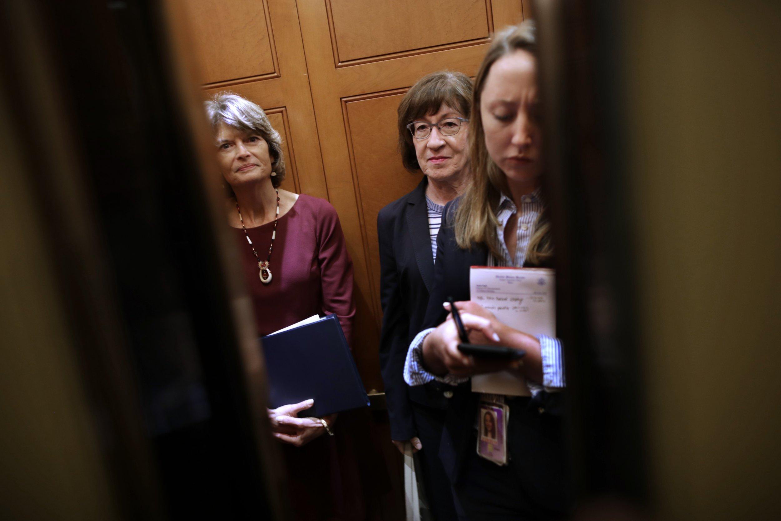 trump angered republican senators confirm kavanaugh