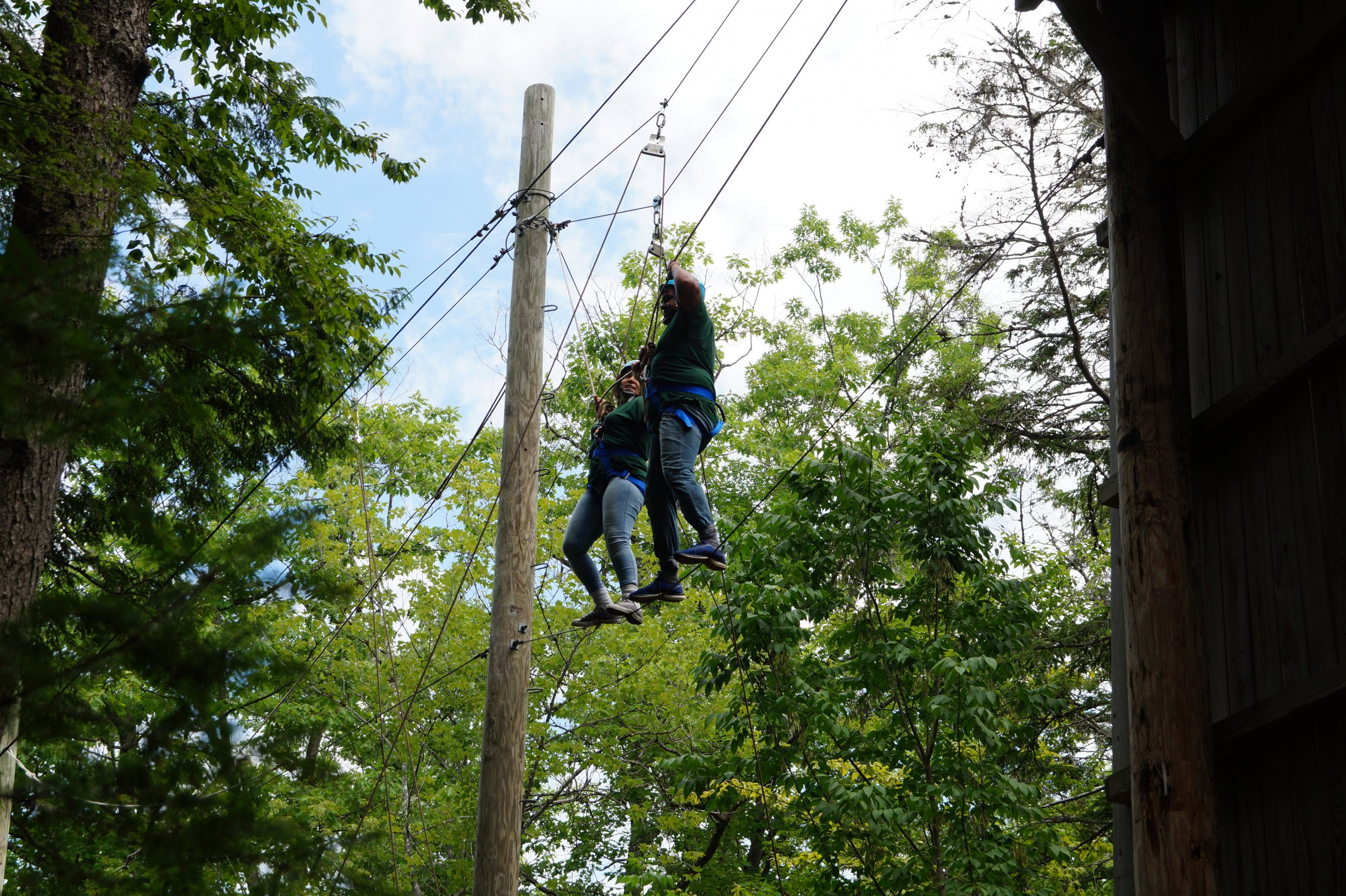 2018 ropes course seeds of peace